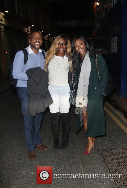 David Burke, Alexandra Burke and Sheneice Burke 1