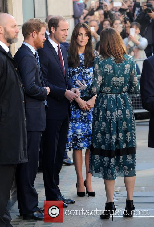 Duke Of Cambridge, Duchess Of Cambridge and Prince Harry 2