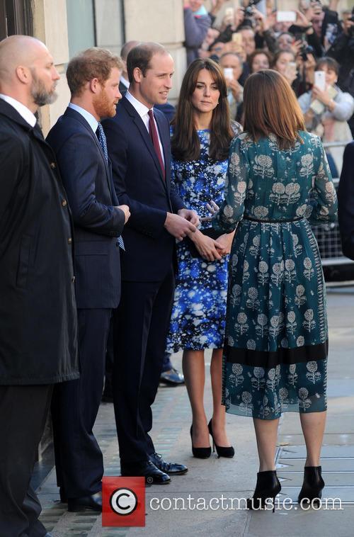 Duke Of Cambridge, Duchess Of Cambridge and Prince Harry 3