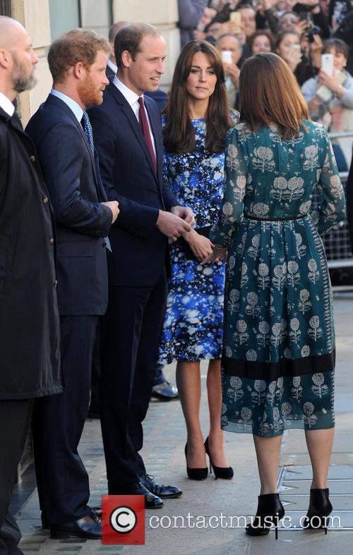 Duke Of Cambridge, Duchess Of Cambridge and Prince Harry 4