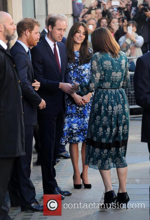 Duke Of Cambridge, Duchess Of Cambridge and Prince Harry 5