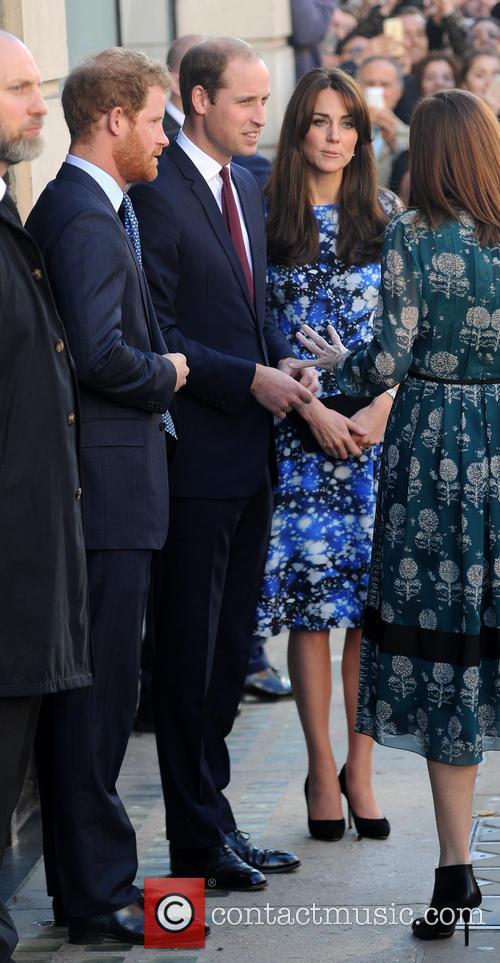 Duke Of Cambridge, Duchess Of Cambridge and Prince Harry 6