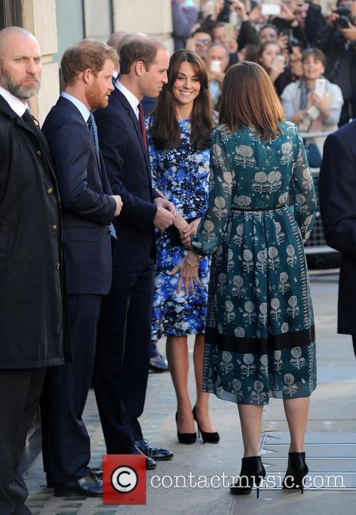 Duke Of Cambridge, Duchess Of Cambridge and Prince Harry 1