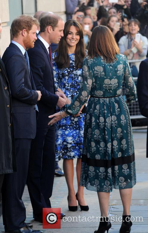 Duke Of Cambridge, Duchess Of Cambridge and Prince Harry 7