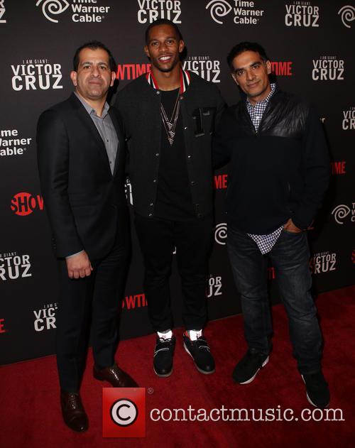 Stephen Espinoza, Victor Cruz and Gotham Chopra 1