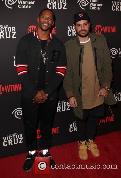 Victor Cruz and Ronnie Fieg 2