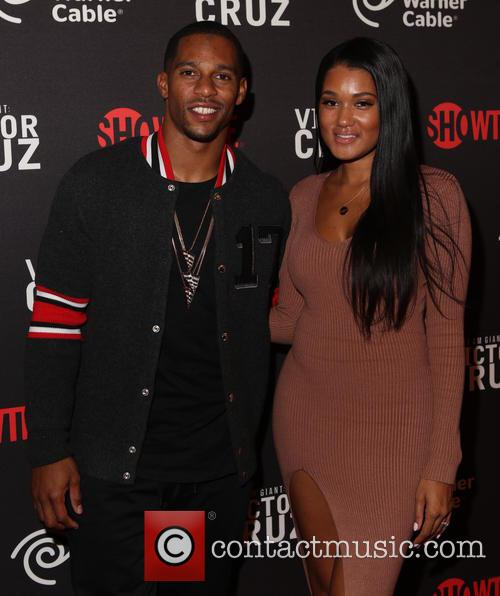 Victor Cruz and Elaina Watley 1