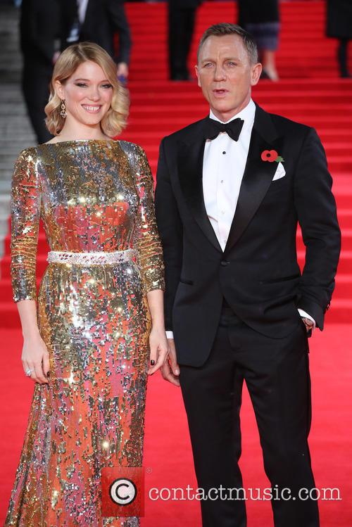 Léa Seydoux and Daniel Craig 1