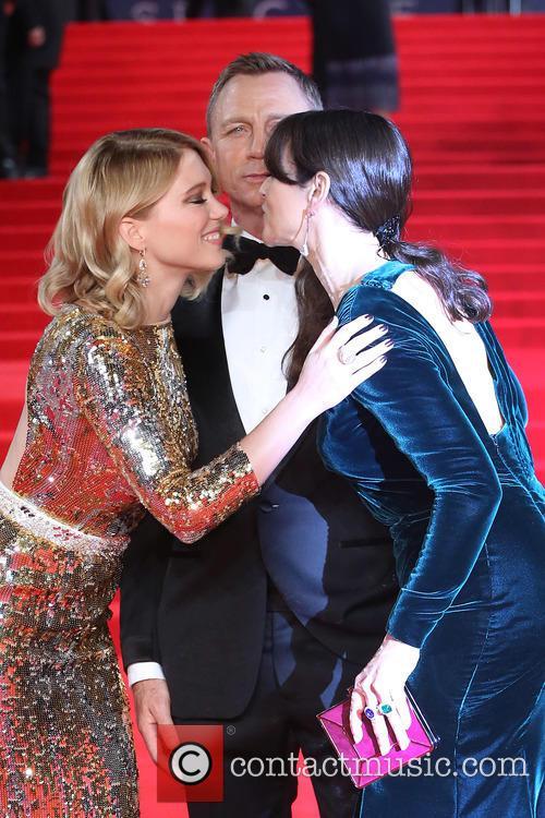 Léa Seydoux, Daniel Craig and Monica Bellucci 2