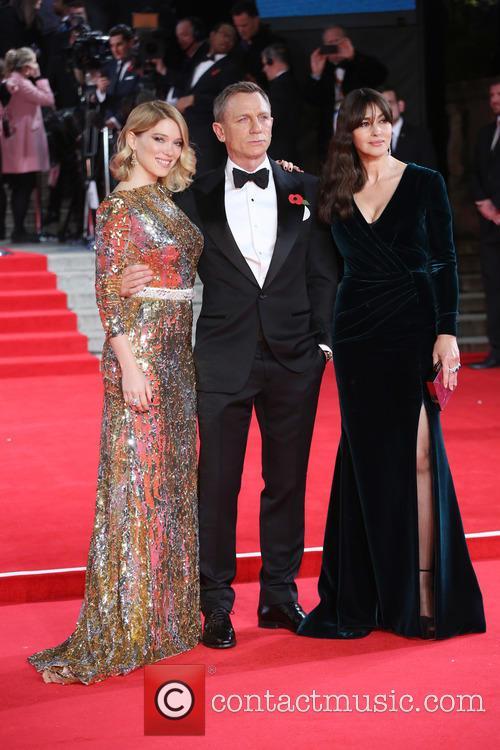 Léa Seydoux, Daniel Craig and Monica Bellucci 1