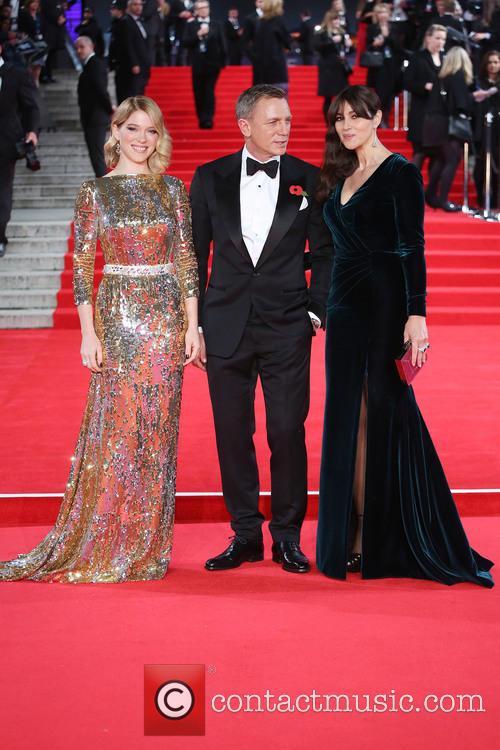 Lea Seydoux, Daniel Craig and Monica Bellucci 2
