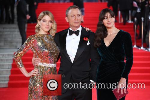 Lea Seydoux, Daniel Craig and Monica Bellucci 1