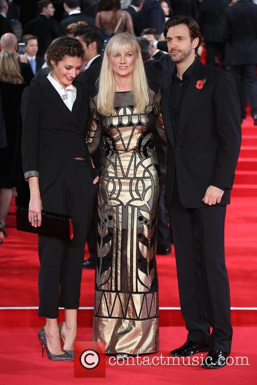 Daisy Bevan, Joely Richardson and Michael Xavier