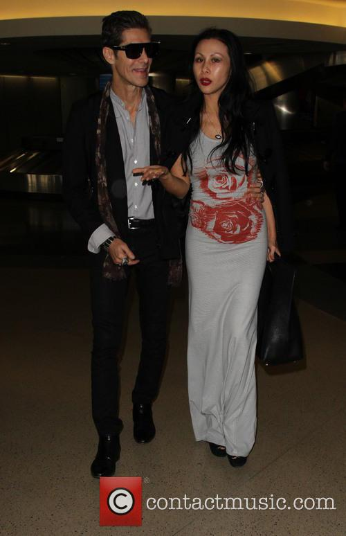 Perry Farrell and Etty Lau Farrell 2