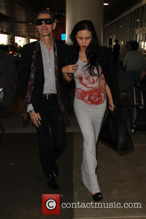 Perry Farrell and Etty Lau Farrell 4