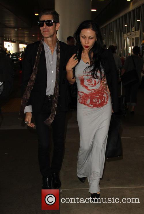 Perry Farrell and Etty Lau Farrell 5
