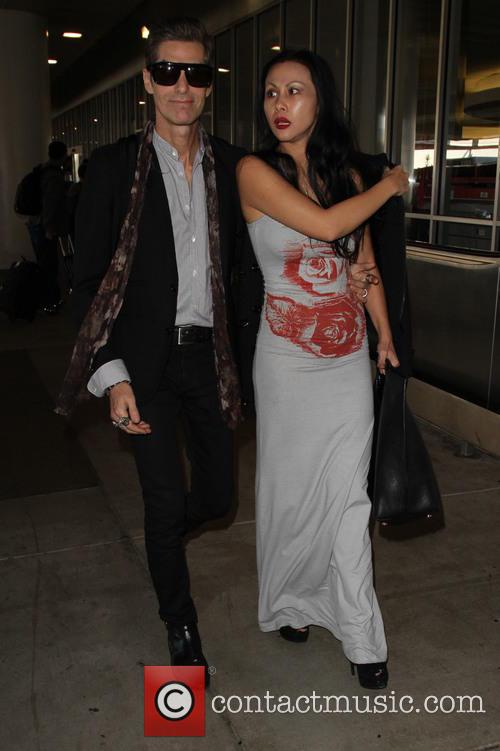 Perry Farrell and Etty Lau Farrell 6