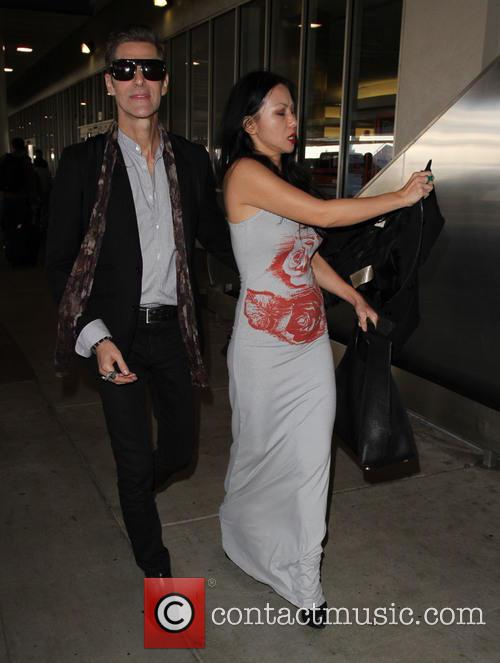 Perry Farrell and Etty Lau Farrell 1