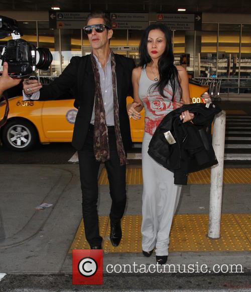 Perry Farrell and Etty Lau Farrell 7