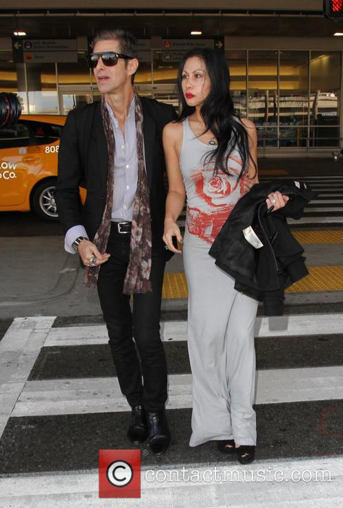 Perry Farrell and Etty Lau Farrell 8