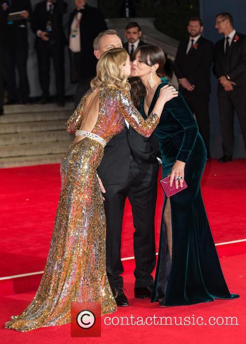 Daniel Craig, Lea Seydoux and Monica Bellucci 2