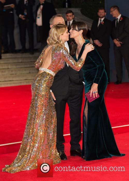 Daniel Craig, Lea Seydoux and Monica Bellucci 1