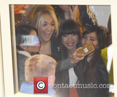 Rita Ora and 4th Impact 1