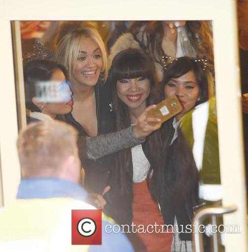 Rita Ora and 4th Impact 1