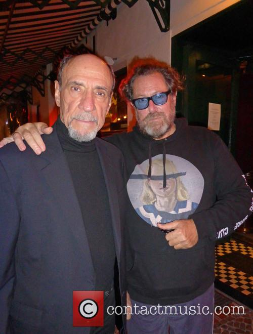 F. Murray Abraham and Julian Schnabel 1