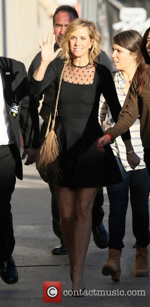 Kristen Wiig arrives at the Jimmy Kimmel Live!...