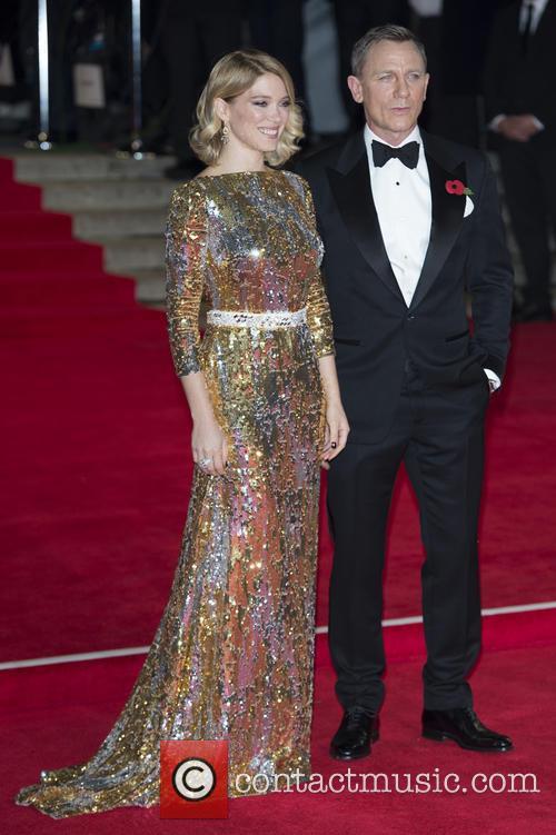 Lea Seydoux and Daniel Craig 2