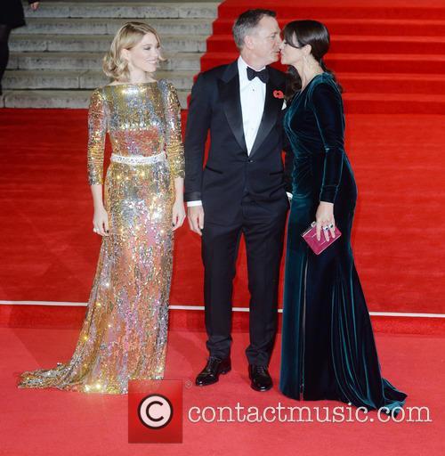 Monica Bellucci, Lea Seydoux and Daniel Craig 2