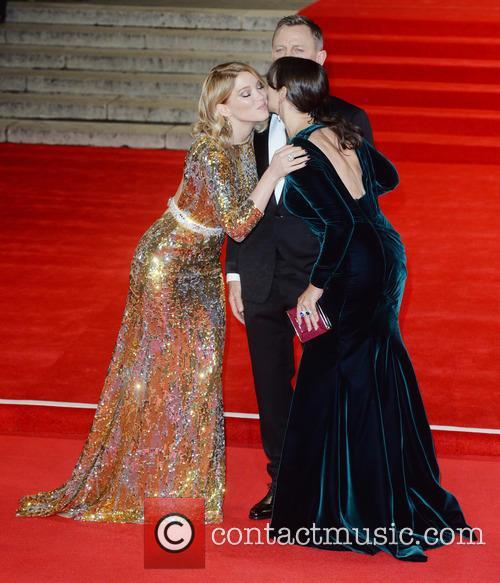 Monica Bellucci, Lea Seydoux and Daniel Craig 3
