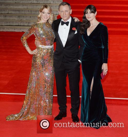 Monica Bellucci, Lea Seydoux and Daniel Craig 4