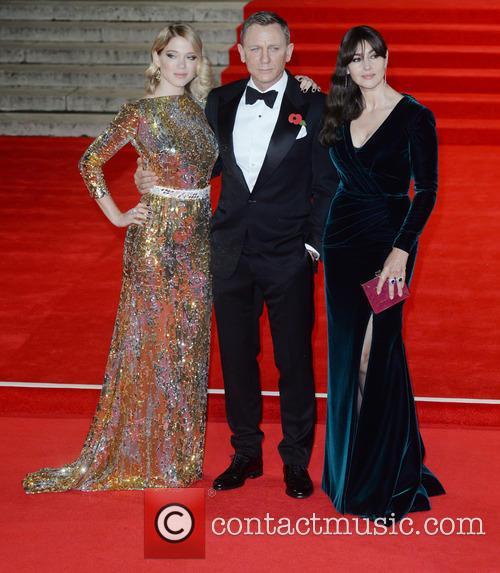 Monica Bellucci, Lea Seydoux and Daniel Craig 5
