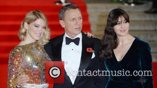Monica Bellucci, Lea Seydoux and Daniel Craig 1