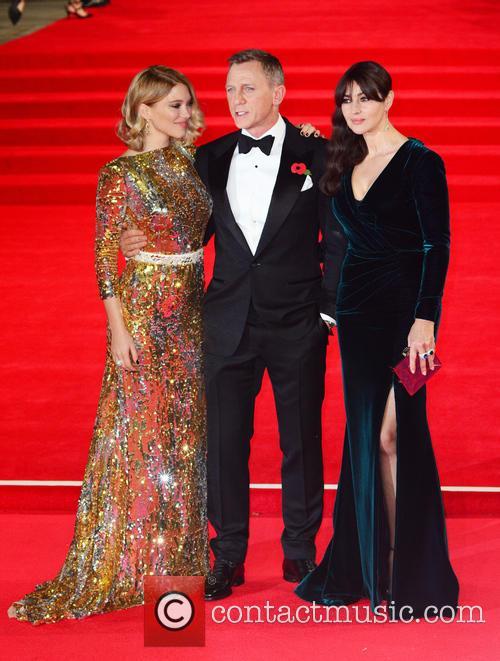 Lea Seydoux, Daniel Craig and Monica Bellucci 3