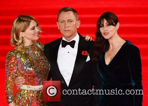 Lea Seydoux, Daniel Craig and Monica Bellucci 4