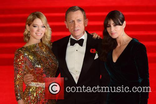 Lea Seydoux, Daniel Craig and Monica Bellucci 5