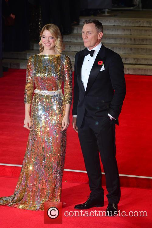 Lea Seydoux and Daniel Craig 1