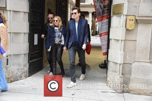 View, Mark Ronson, Josephine De La Baume, Pietro Tavallini and Francesca Versace