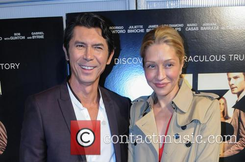 Lou Diamond Phillips and Yvonne Boismier Phillips 1