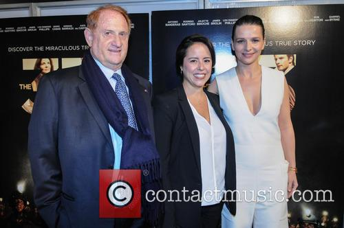 Patricia Riggen, Juliette Binoche and Guest 1
