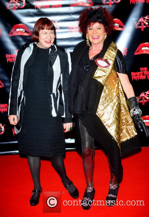 Nell Campbell and Patricia Quinn 1