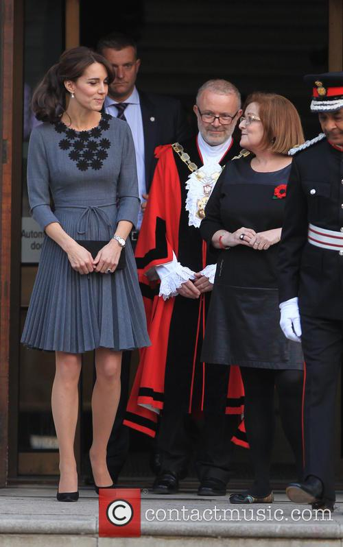 Catherine, Duchess of Cambridge meets with Chance UK's...