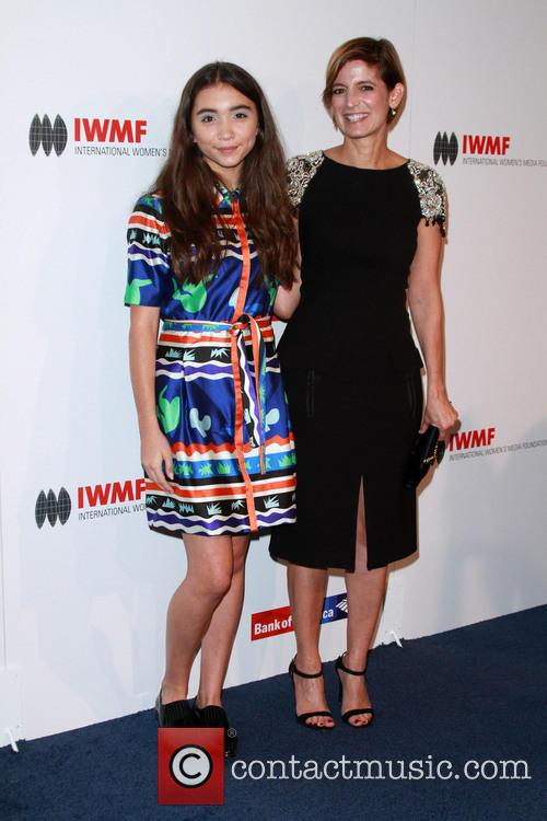 Rowan Blanchard and Glamour Editor-in-chief Cindi Leive 2