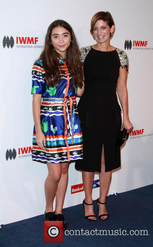 Rowan Blanchard and Glamour Editor-in-chief Cindi Leive 1
