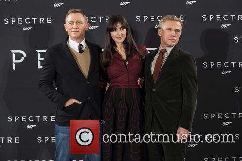 Daniel Craig, Monica Bellucci and Christoph Waltz 2
