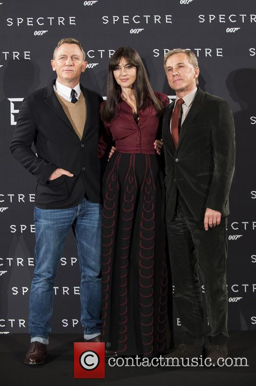 Daniel Craig, Monica Bellucci and Christoph Waltz 1