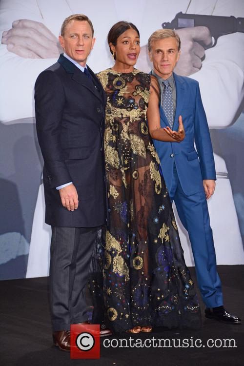 Daniel Craig, Naomie Harris and Christoph Waltz 1